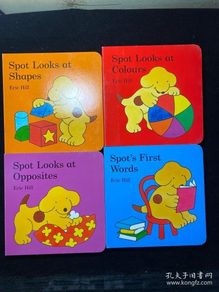 Spot'sLittleLearningLibrary(BoardBook)(套装共4册)小玻系列
