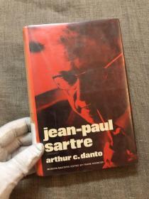 Jean-Paul Sartre (Modern Masters) 萨特 著名哲学家、艺术批评家 阿瑟·丹托 作品【Frank Kermode爵士主编的《现代大师》系列。英文版,精装】馆藏书