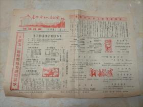 长治市工人文化宫活动月报  (1983年5月1日)