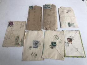 57年实寄封【92枚】合拍 详细如图