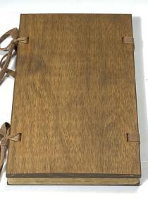 孤本基督教古籍  《摩  西  五经撮要》光绪三十一年汉镇圣教书局刻本  字体精整  竹纸一夹一厚册全  查无著录
