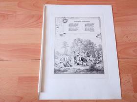 1884年铜版蚀刻版画《迎春曲》(Fruhlingslied des Recensenten)-- 出自19世纪德国画家,路德维希·里克特(Ludwig Richter)的原创蚀刻 -- 配有19世纪德国著名浪漫主义诗人,路德维希·乌兰特(Ludwig Uhland,1787-1862)于1815年创作的著名诗歌《春天的信念》 -- 奥地利维也纳艺术画廊出版 -- 版画纸张38.5*29厘米