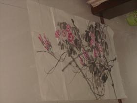 保真手绘一张画---喇叭花
