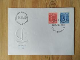 《外国集邮品收藏保真:欧罗巴1966年邮票首日封 》澜2107-14