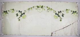 佚名 作 《山茶花》被面原稿一幅(尺寸:73*168cm)HXTX331638