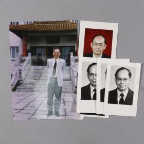 中国工程院院士、著名工程热物理专家 岑可法签名照片 一组五张(最小尺寸6.8*4.5、最大尺寸12.5*8.5cm,其中一张签名被裁剪)HXTX241607