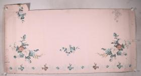 徐明业 1980年作 《鸟语花香》被面原稿2幅一组(最大尺寸:188*183cm,最小尺寸82*100cm)HXTX331635
