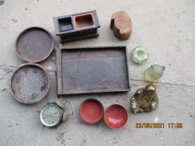 低拍老物件,杂项等,一堆合拍,有大有小,重近8斤,品以图为准。(200210823)