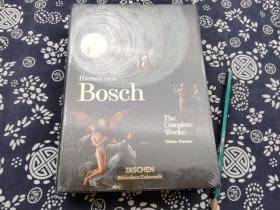 五百页厚册《幻想神秘主义大师 博斯》2018年英文原版,书品全新,收录博斯的全部作品21*16公分锁线精装 博斯(约1450~约1516) Bosch,Hieronymus   本名为吉罗姆·范·埃庚,尼德兰画家。生于北布拉班特的斯海尔托亨博斯镇,卒于同地,祖父、父亲都是画家。自幼受到家庭影响,擅长用细密笔法,描绘充满民间趣味的作品。同时又受到民间艺术的培育,
