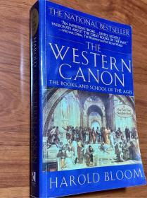[较新]The Western Canon 西方正典。 文学理论书籍英文版 Harold Bloom 哈罗德布鲁姆文学批评集