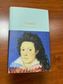 Virginia woolf 伍尔芙:Orlando.  原版。无划痕。如新。三边刷金。小开本。收藏