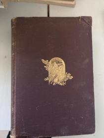 1888年印制 外文原版铜版纸  地质测量学 一册 图片 地图等 600多页