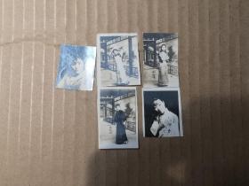 民国间 妓女照片六幅  尺寸3/4厘米
