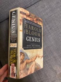 精装厚册。布鲁姆,耶鲁教授。天才:一百个有创意心灵的榜样 Genius:A Mosaic of One Hundred Exemplary Creative Minds