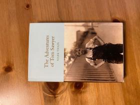 马克吐温: the adventures of tom Sawyer。 无划痕。如新。三边刷金。小开本。收藏