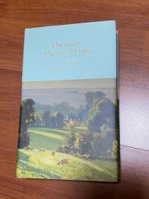 哈代诗集。Poems of thomas hardy.  无划痕。如新。三边刷金,小开本。收藏