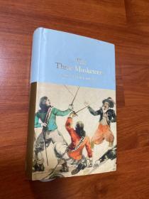 大仲马。三个火枪手。three Musketeers。 Dumas 原版。无划痕。如新。三边刷金。小开本。收藏
