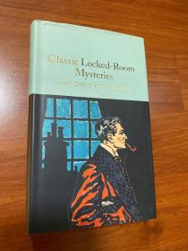 密室谜团。Classic Locked-room mysteries,原版。无划痕。如新。三边刷金。小开本。收藏