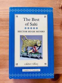 The Best of Saki。 无划痕。如新。三边刷金。小开本。收藏