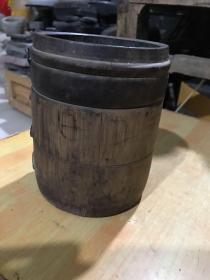 清代的竹桶、包老完整