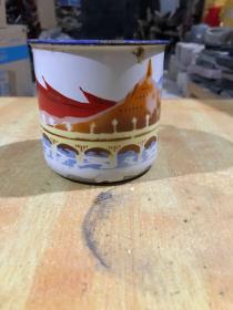 文革时期的搪瓷茶缸