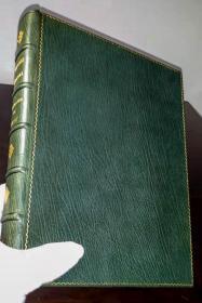 《白都伦公主》私人定制豪华全皮插图本,埃德蒙·杜拉克,1913.《Princess Badoura》, Fine Binding, Retold by Laurence Housman, illustrated by Edmund Dulac, First edition, London, 1913