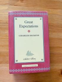 Dickens, Great expectations远大前程。 无划痕。三边刷金。小开本。收藏