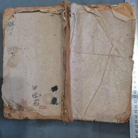 明代木刻医书资料古籍  女科百問卷下  78页156面 一厚册全