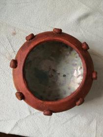 乳钉钧釉陶钵