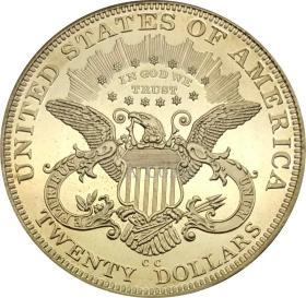 1884年美国双鹰与座右铭硬币