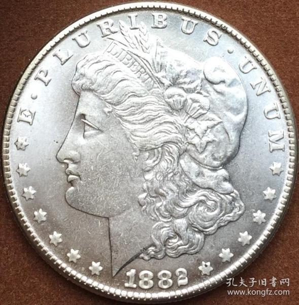 美国1882年硬币硬币