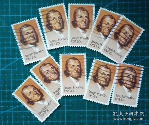 美国邮票-----普莱斯利(信销票)