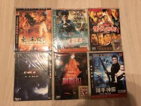 黄金时代港片DVD,12张