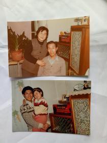 老照片 2张合售