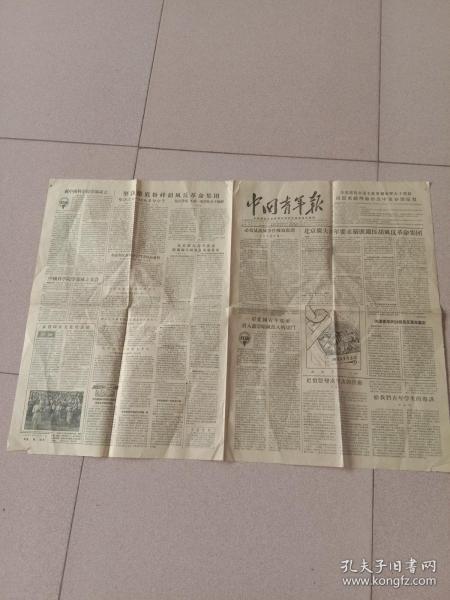 中国青年报1955年6月11日