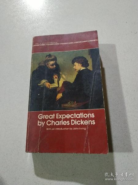 Great Expectations by Charles Dickens:查尔斯·狄更斯的《远大前程》(外文)品相不好