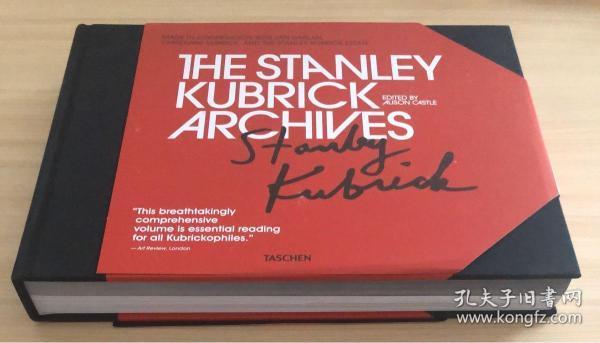 现货 库布里克档案The Stanley Kubrick Archives电影艺术设计原版书[TASCHEN]