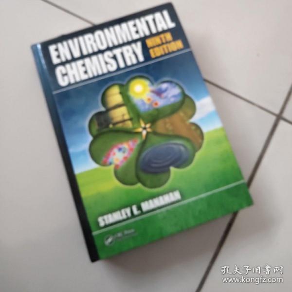 environmental chemistry【ninth edition】【大16开硬精装英文原版如图实物图】