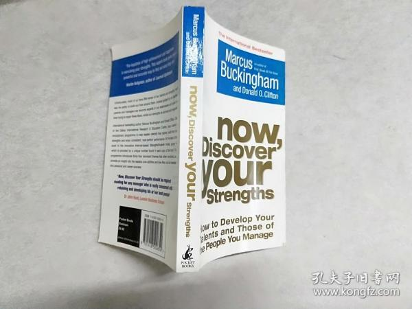 Now, Discover Your Strengths:How to Develop Your Talents and Those of the People You Manage