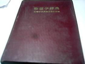 物理学辞典 [日文原版书 16开精装厚册]