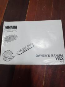 Yamaha 雅马哈ybx ais英文说明书india