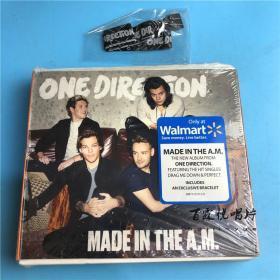 【美】单向乐队 One Direction Made In The A.M. 附手环