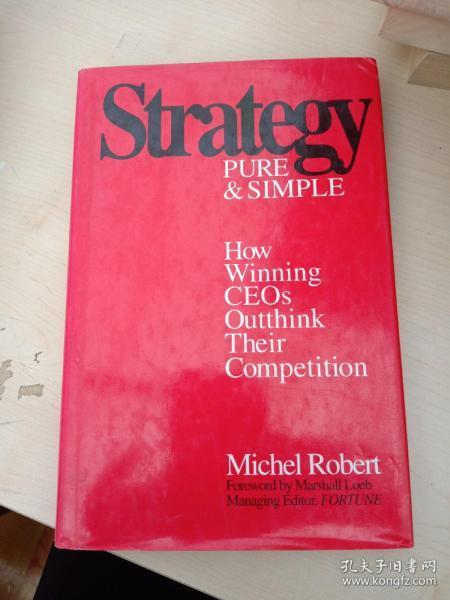 Strategy PURE &SIMPLE Robert(以图为准)