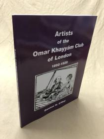 藏家必备参考书:Artists of the Omar Khayyam Club of London 1892-7929