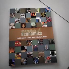 essentials of economics【大16开英文原版彩印如图实物图】