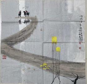 河北省美术家协会理事,山水画研究会副会长---唐凤歧精品(卖家保真)
