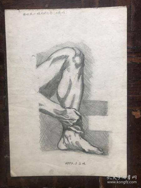 男性屈小腿时的外形