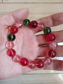 多彩水晶手串