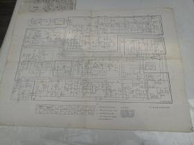 黑白电视接收机电原理图