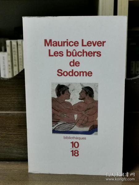 Antoine Maurice :Les b?chers de Sodome : Histoire des infames 同性恋故事 (社科)法文原版书